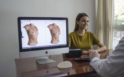 La réalité augmentée pour rassurer les patientes qui envisagent une augmentation mammaire avec prothèses